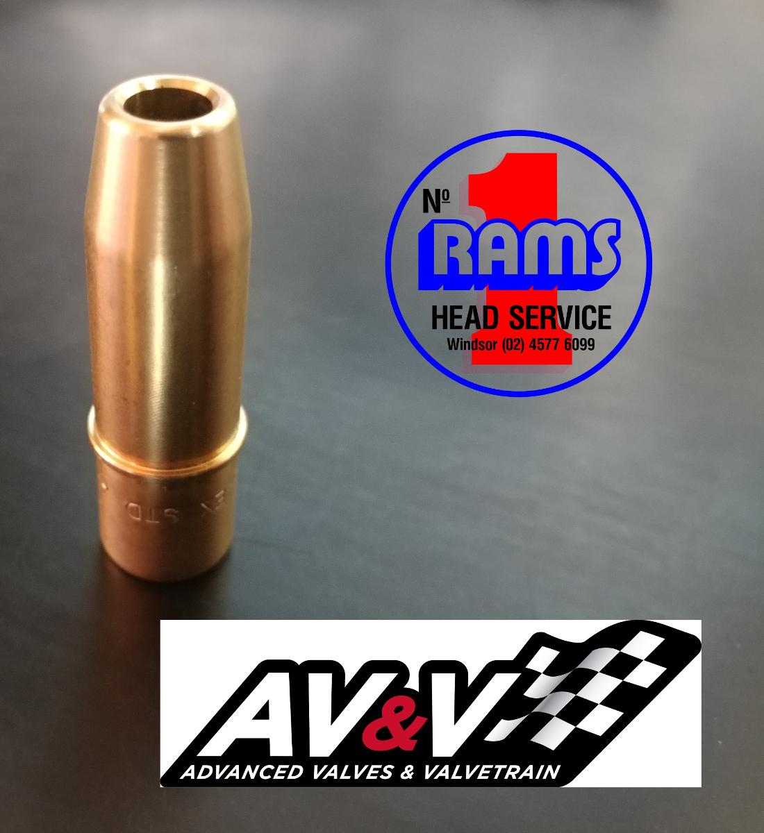 AV&V MILWAUKEE 8 Exhaust Valve Guide VG8101 / + 001